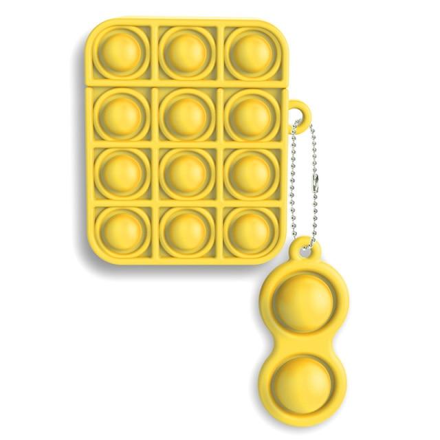 pop it silicone earpods case fidget toy 2067 - Wacky Track