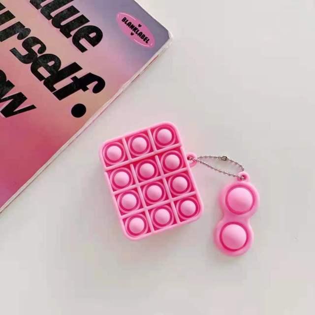pop it silicone earpods case fidget toy 2269 - Wacky Track