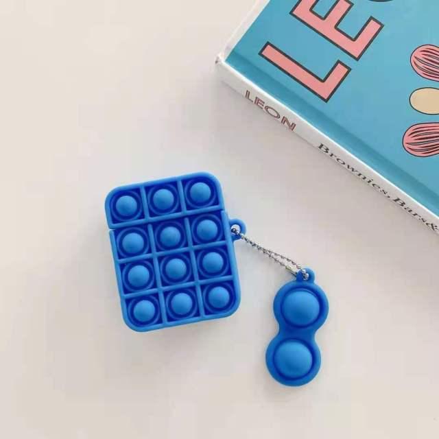 pop it silicone earpods case fidget toy 2438 - Wacky Track