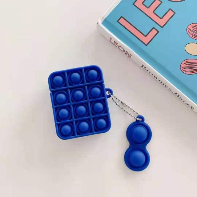 pop it silicone earpods case fidget toy 3508 - Wacky Track