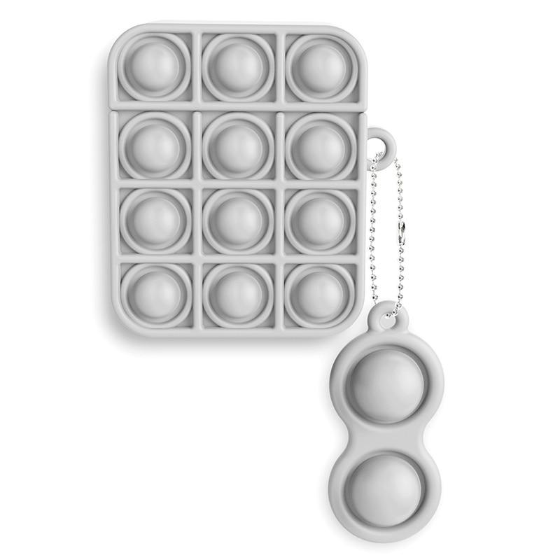 pop it silicone earpods case fidget toy 5231 - Wacky Track