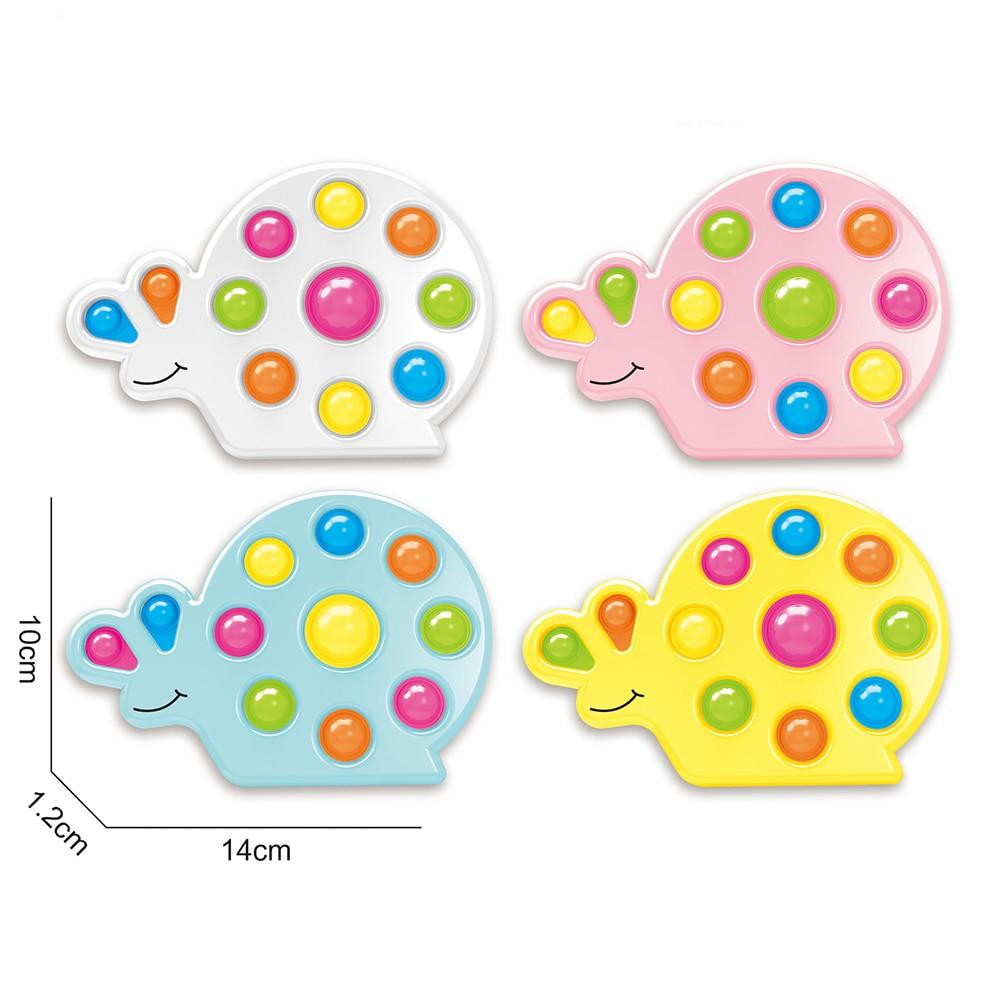 pop it snail shape fidget toy 2807 - Wacky Track