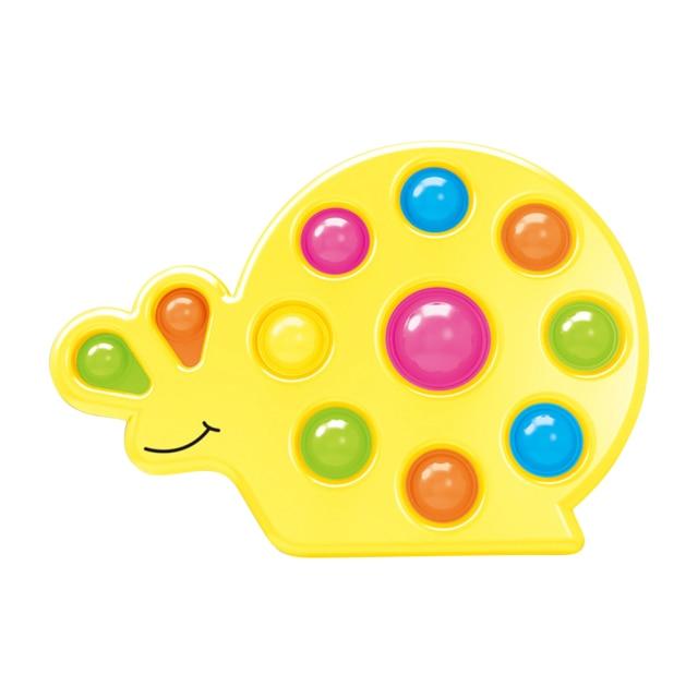 pop it snail shape fidget toy 5228 - Wacky Track