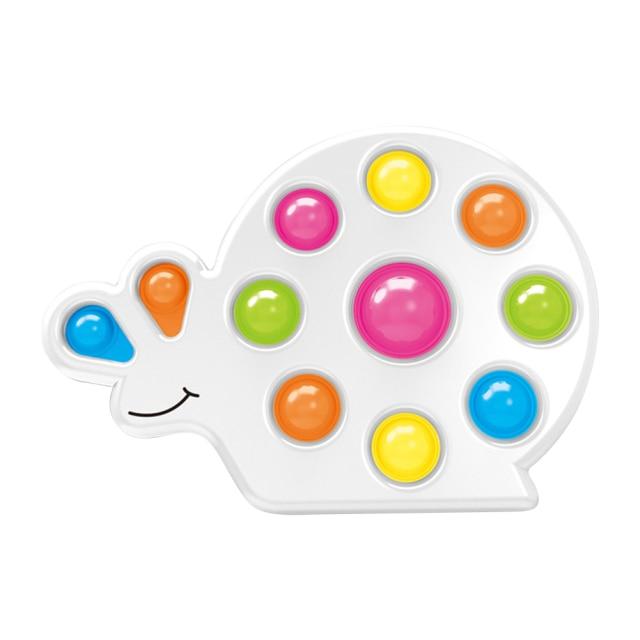 pop it snail shape fidget toy 6984 - Wacky Track