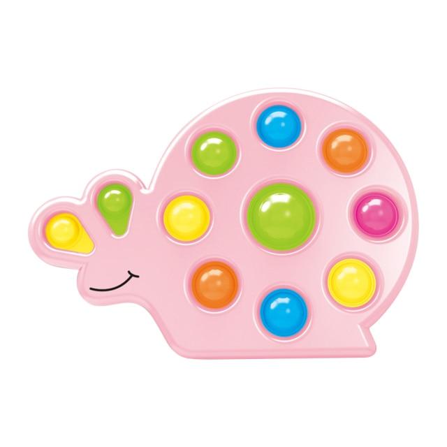 pop it snail shape fidget toy 8195 - Wacky Track