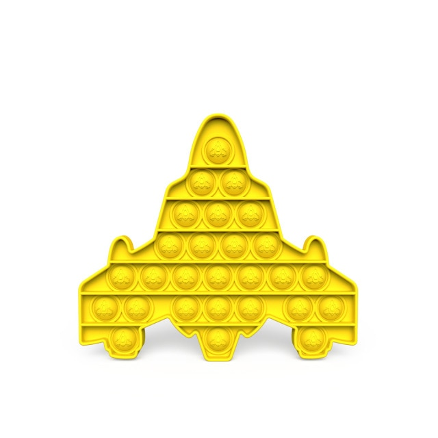 pop it space ship fidget toys 2215 - Wacky Track