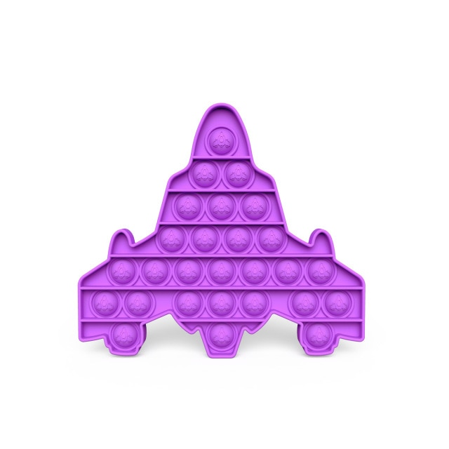 pop it space ship fidget toys 5104 - Wacky Track
