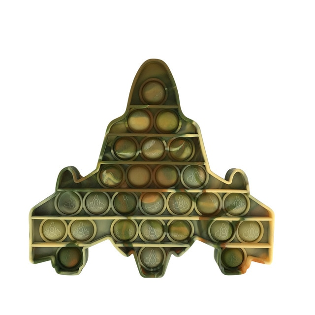 pop it space ship fidget toys 5354 - Wacky Track