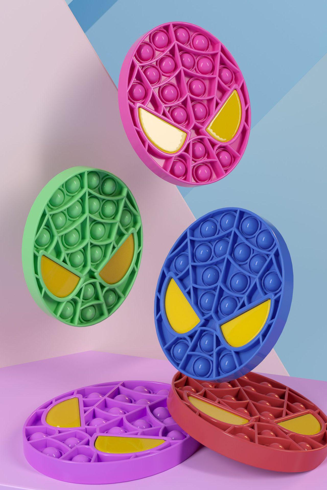 pop it spiderman fidget toys 2194 - Wacky Track