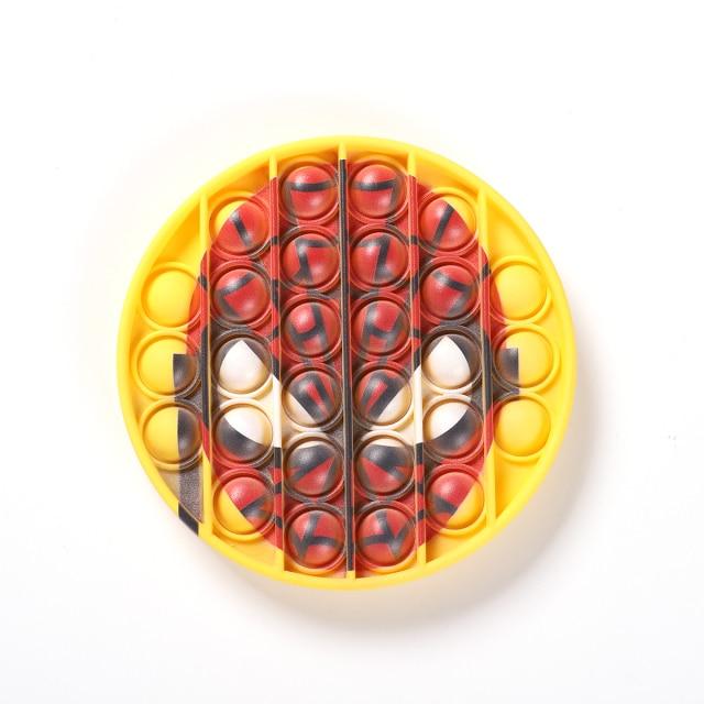 pop it spiderman fidget toy 8639 - Wacky Track