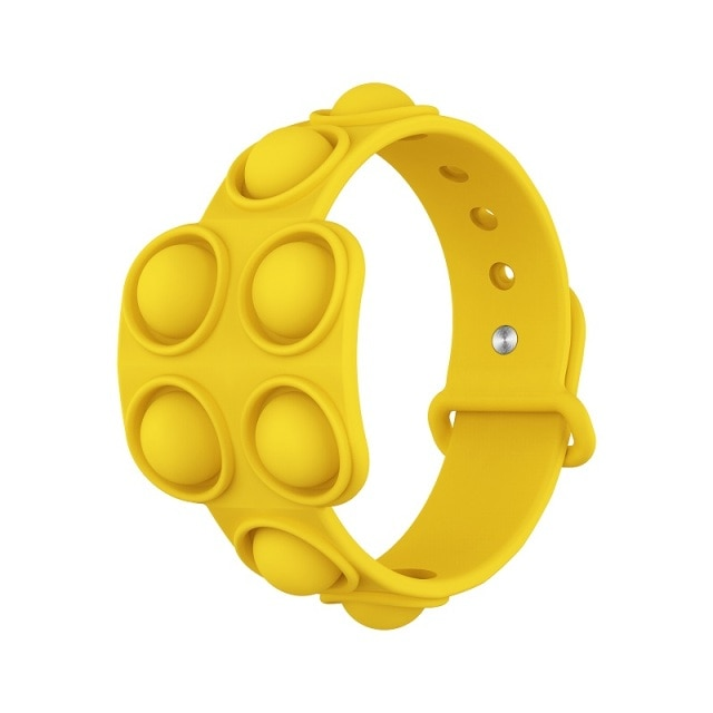 pop it square bracelet fidget toy 5097 - Wacky Track