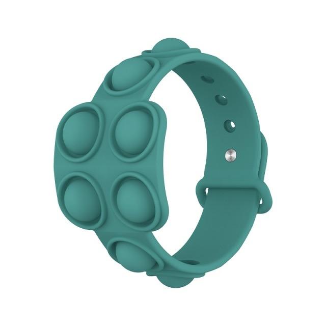 pop it square bracelet fidget toy 5142 - Wacky Track