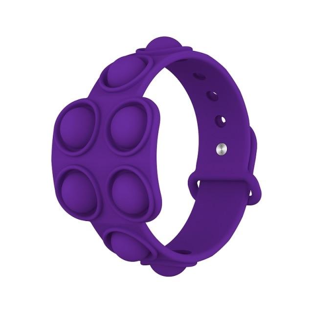 pop it square bracelet fidget toy 5484 - Wacky Track
