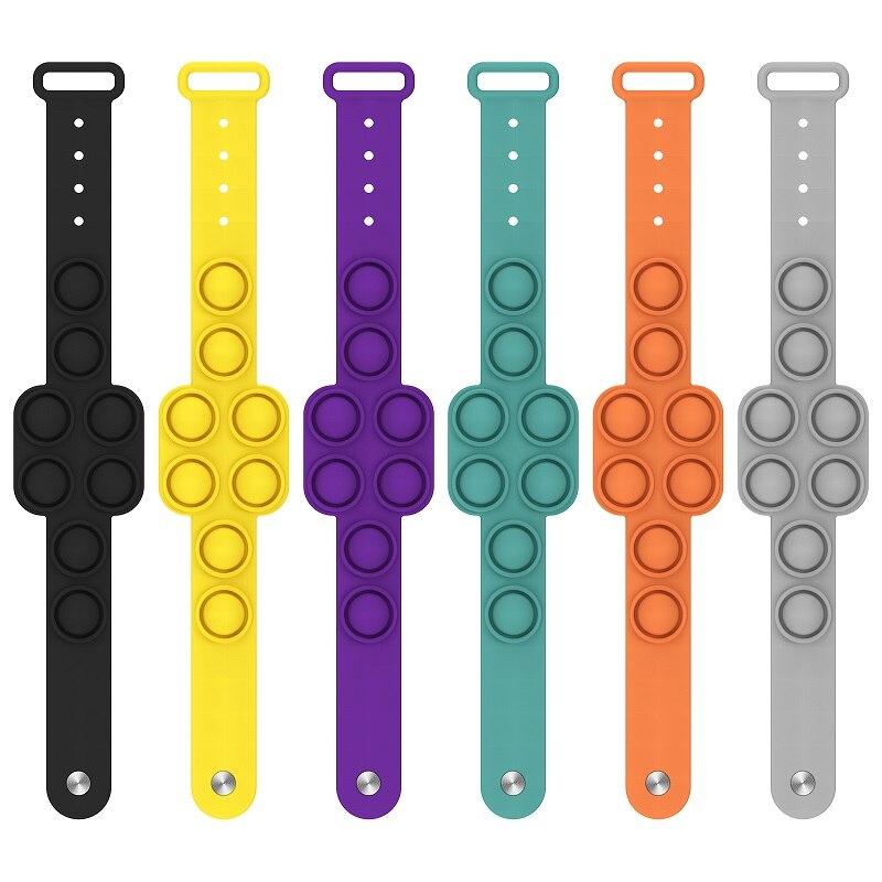 pop it square bracelet fidget toy 7486 - Wacky Track