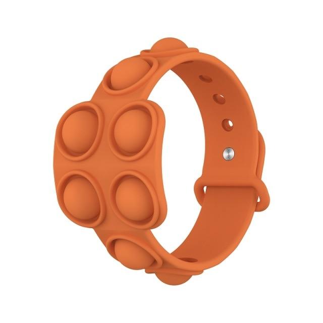 pop it square bracelet fidget toy 8401 - Wacky Track