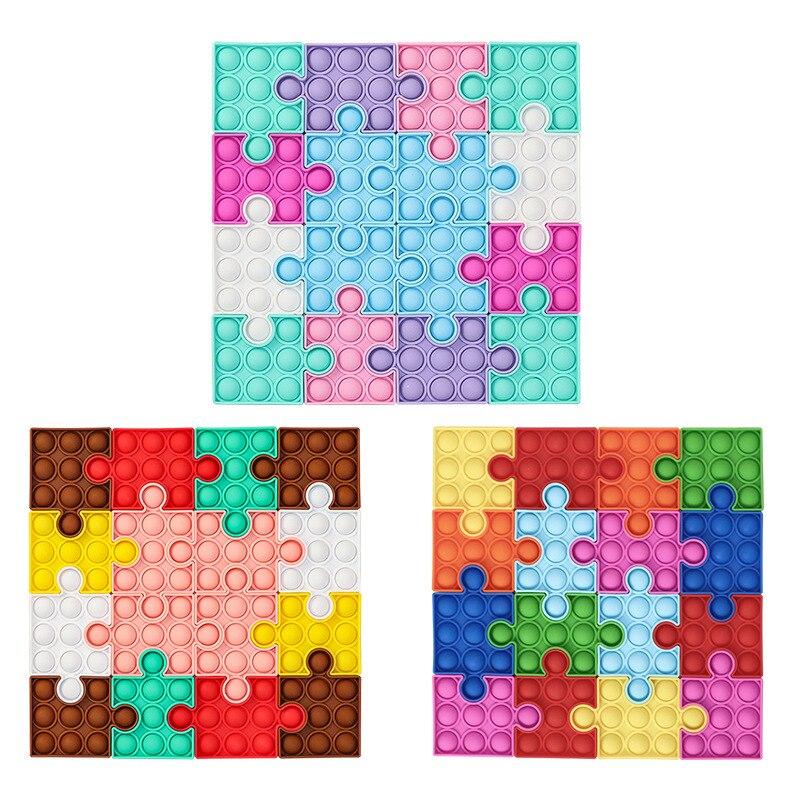 pop it square puzzle fidget toy 4115 - Wacky Track