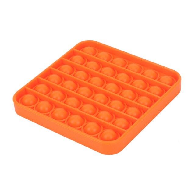 pop it square shape fidgets toys 6718 - Wacky Track