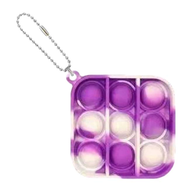 pop it square shapes keychain fidgets toys 5090 - Wacky Track