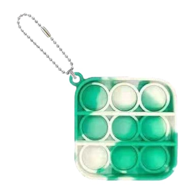 pop it square shapes keychain fidgets toys 7223 - Wacky Track