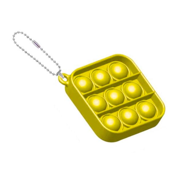 pop it square shapes keychain fidgets toys 7800 - Wacky Track