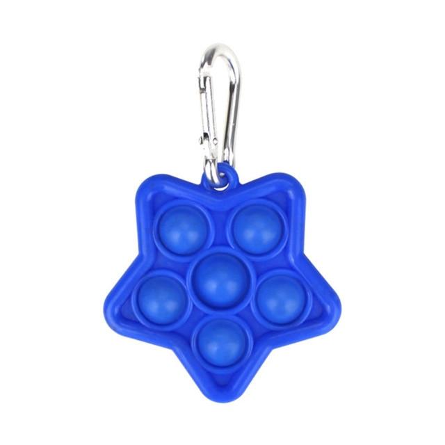 pop it star keychain fidget toys 2167 - Wacky Track