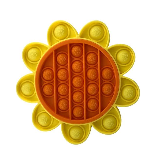 pop it sun flower fidget toys 2598 - Wacky Track