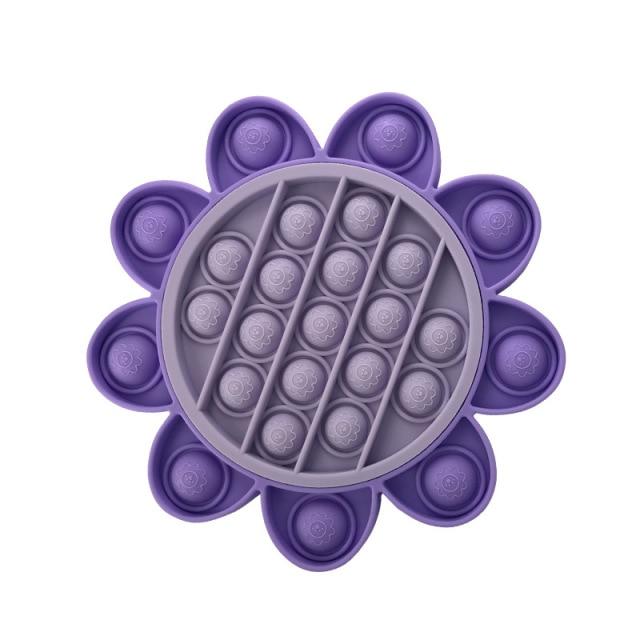 pop it sun flower fidget toys 5096 - Wacky Track