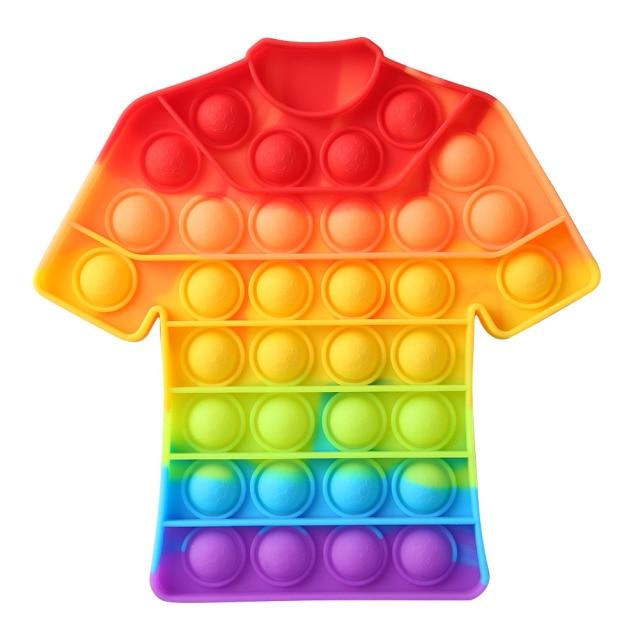pop it t shirt pop it fidget toys 6650 - Wacky Track