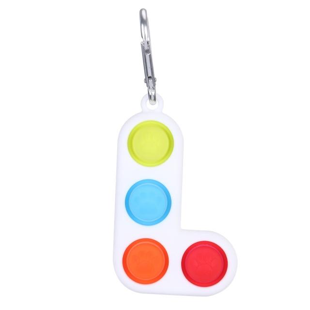 pop it tetris fidget toy 5701 - Wacky Track