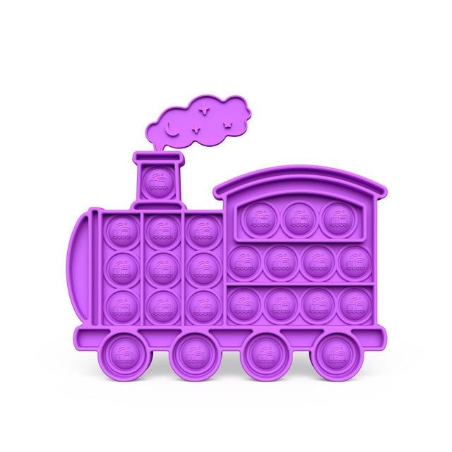 pop it train fidget toys 2879 - Wacky Track