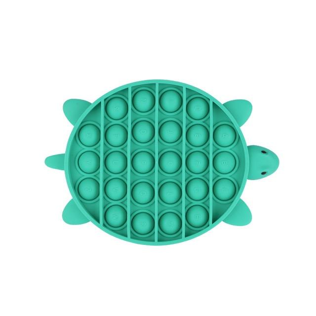 pop it turtle fidget toys 4992 - Wacky Track
