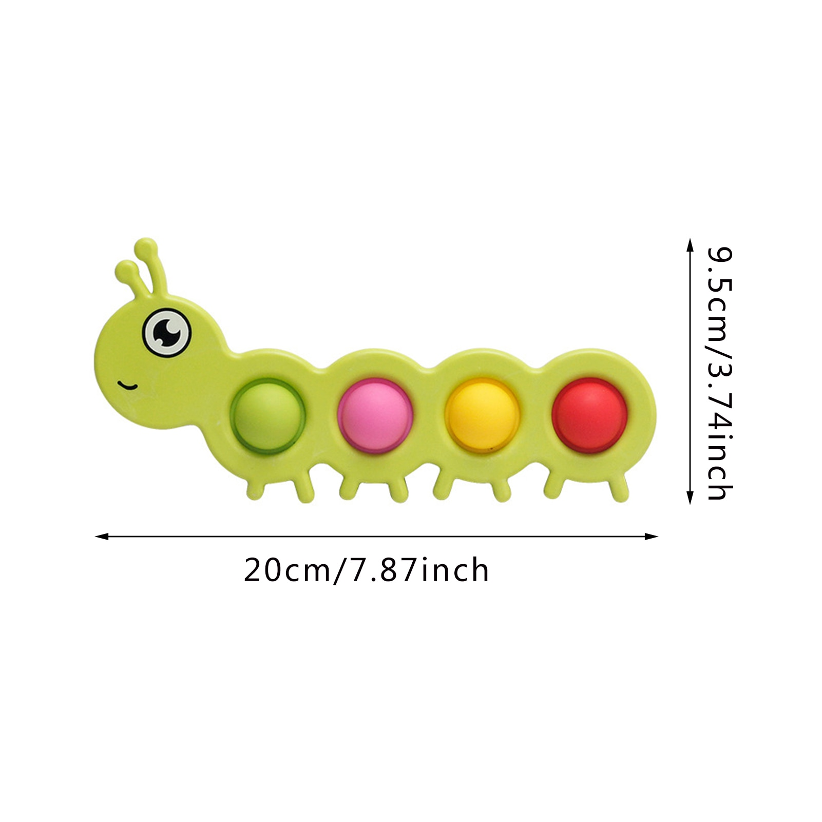 pop it worm fidget toy 1489 - Wacky Track