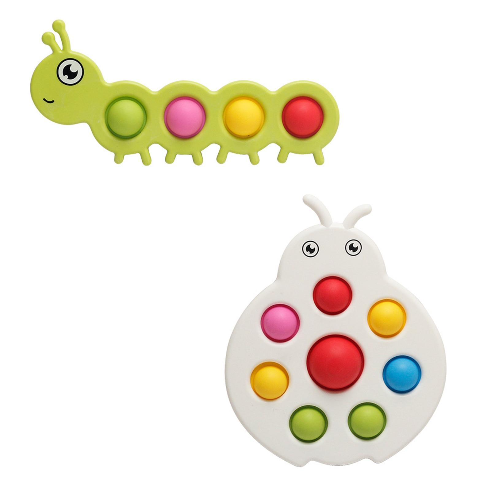 pop it worm fidget toy 3850 - Wacky Track