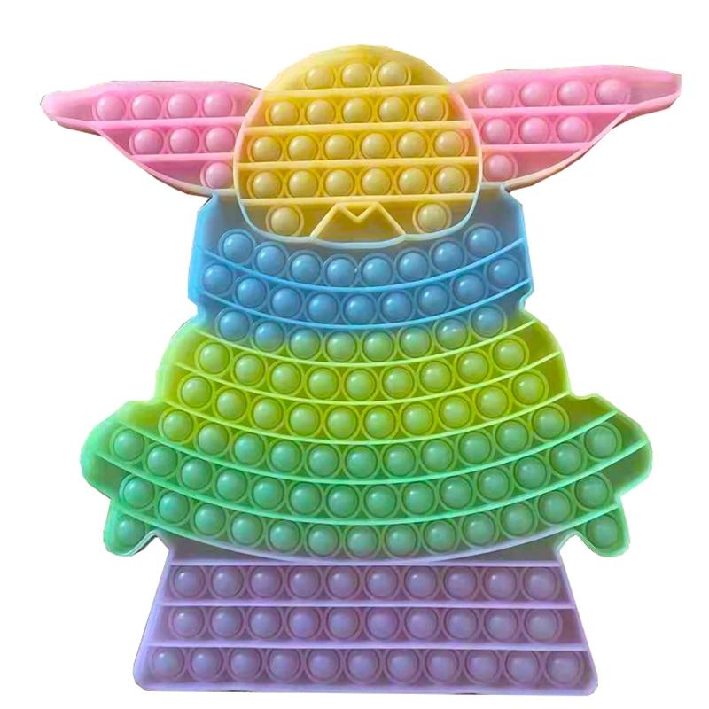 pop it yoda baby fidget toy 5068 - Wacky Track