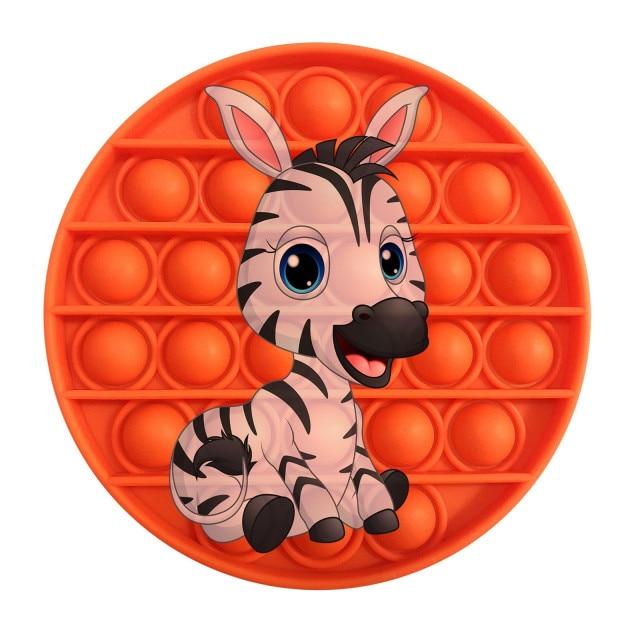 pop it zebra image fidget toy 3830 - Wacky Track