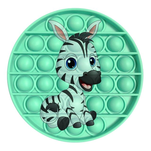 pop it zebra image fidget toy 8928 - Wacky Track