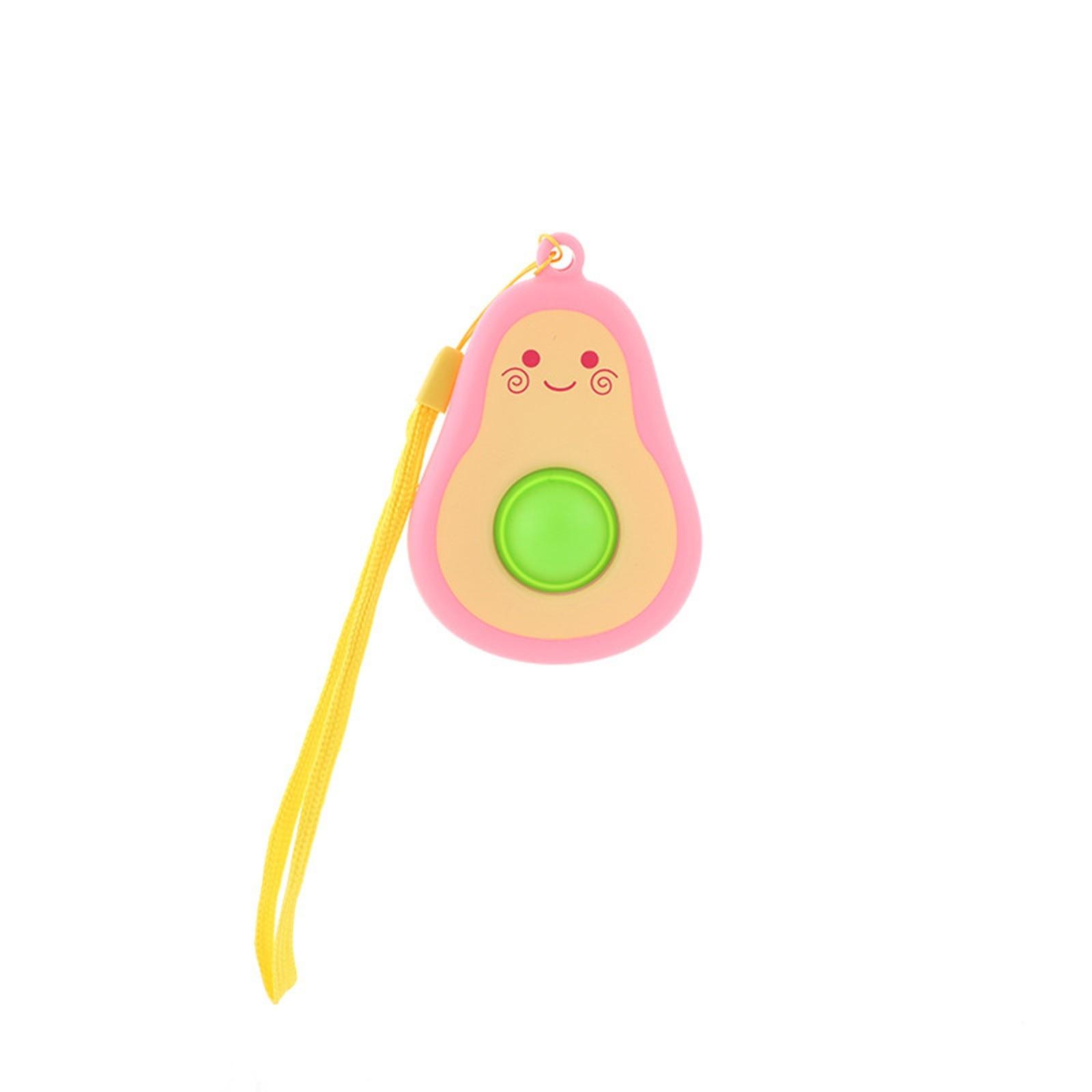 simple dimple avocado fidget toy 3407 - Wacky Track