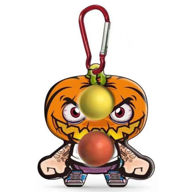 simple dimple cartoon character fidget toy 1332 - Wacky Track