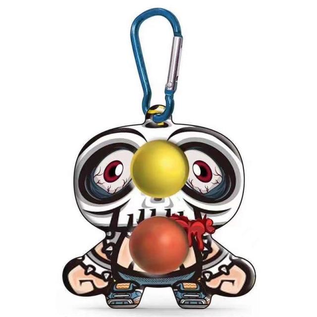 simple dimple cartoon character fidget toy 2680 - Wacky Track
