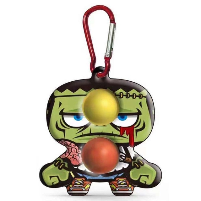 simple dimple cartoon character fidget toy 8660 - Wacky Track