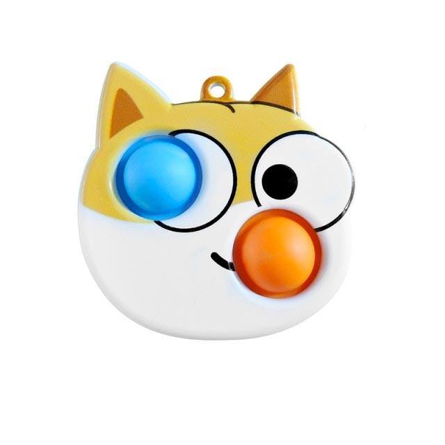 simple dimple cat fidget toy 4995 - Wacky Track