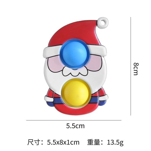 simple dimple christmas fidget toy 3099 - Wacky Track