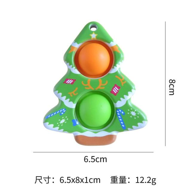 simple dimple christmas fidget toy 7573 - Wacky Track
