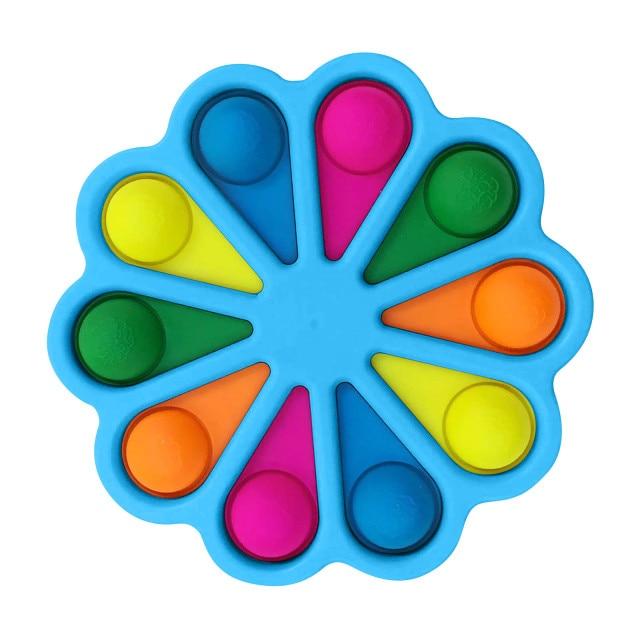 simple dimple pop it 10 pack fidget toy 2044 - Wacky Track