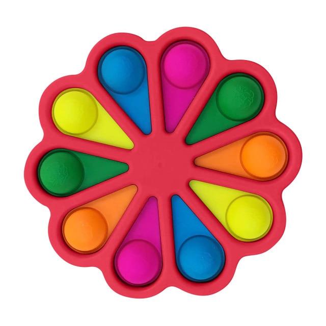simple dimple pop it 10 pack fidget toy 5462 - Wacky Track
