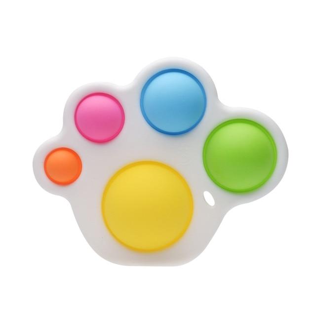 simple dimple pop it 5 pack fidget toy 7140 - Wacky Track