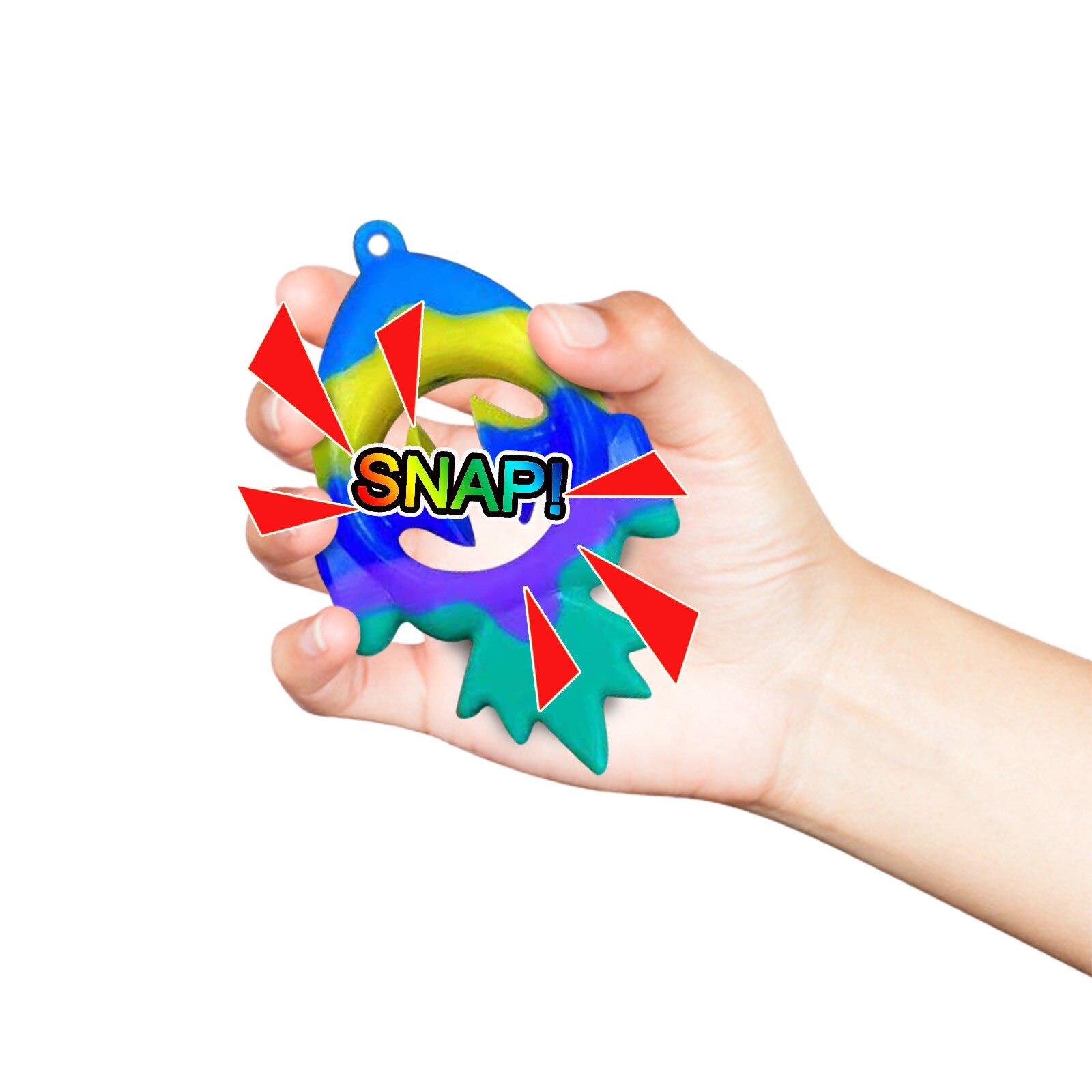 snapper fidget snail fidget toy 6506 - Wacky Track