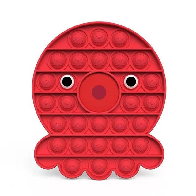 squid pop it fidget anti stress toys 1606 - Wacky Track